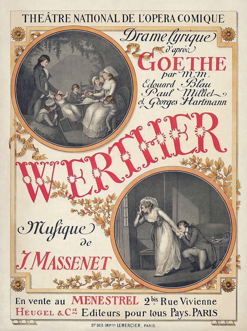 Werther Opera Poster
