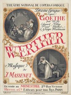 Werther Opera Poster